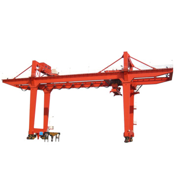 Double Girder Gantry Crane with Trolley