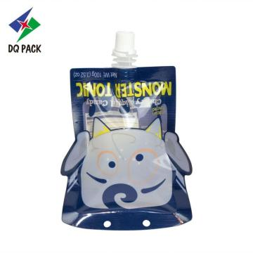 Danqing plastic packaging special shape juice doypack