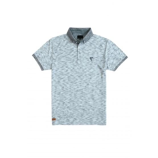 MEN'S KNIT STYLED POLO