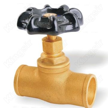 Gland Packings Globe Valve With Solder Ends