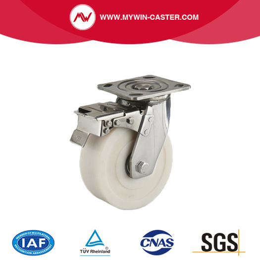 304 Heavy duty Caster with brake