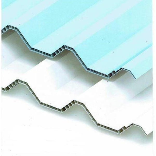 anti corrosive Hollow thermo roof sheet for warehouse
