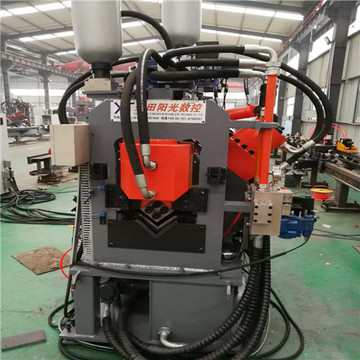 CNC Angle Punching Machine Line
