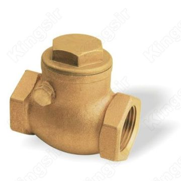 Industrial Usage Forged Brass Swing Check Valve