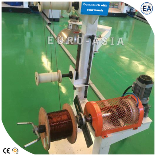 Automatic Winding Machine With Layer Insulation Manually