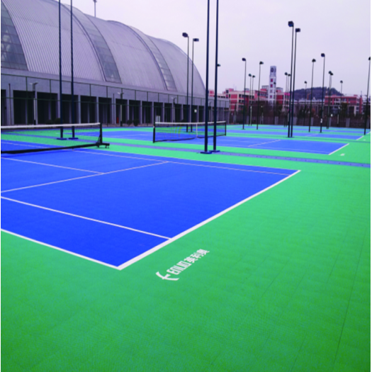 Anti-Slip ITF approved Outside Tennis Court Tile