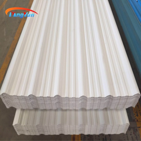 anti-corrosion techo project pvc plastic roof tile