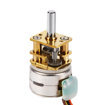 Micro 15mm 5V 2Phase Geared Reducer Stepper Motor