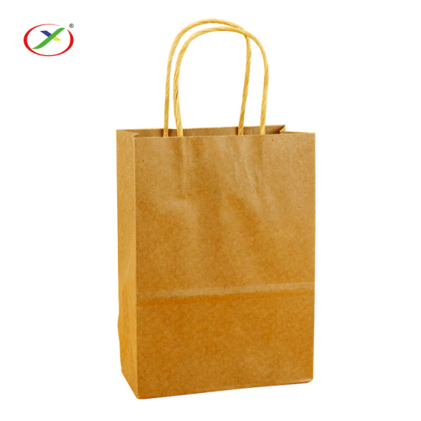 Accept custom logo paper bag with handle