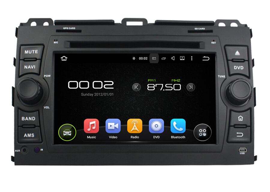 Toyota car dvd player for Prado 2006-2014