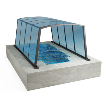 Florida Cost Dome Cover Pool Screen Enclosure