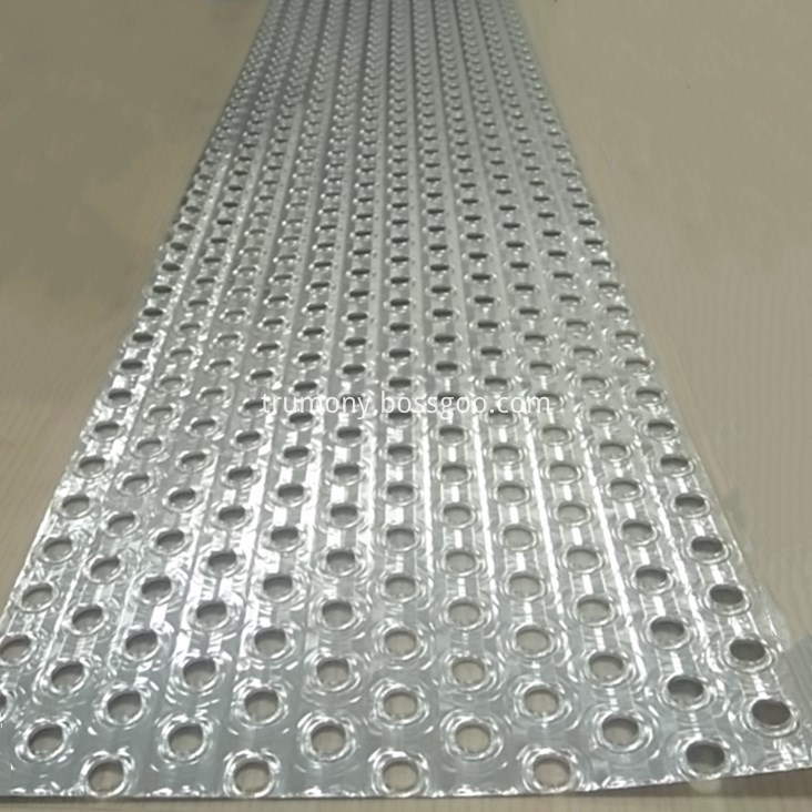 Aluminum Fin Strip With Hole