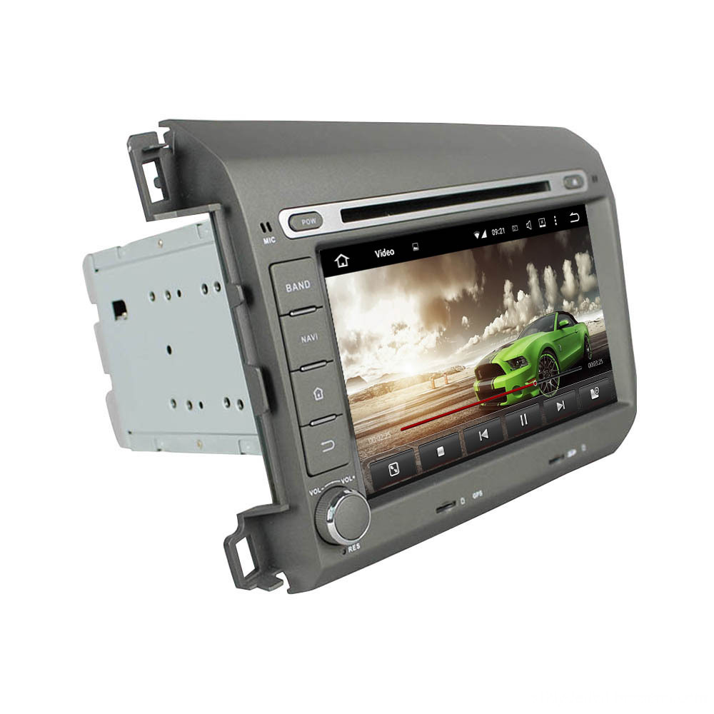 car stereo multimedia player system for Civic 2012