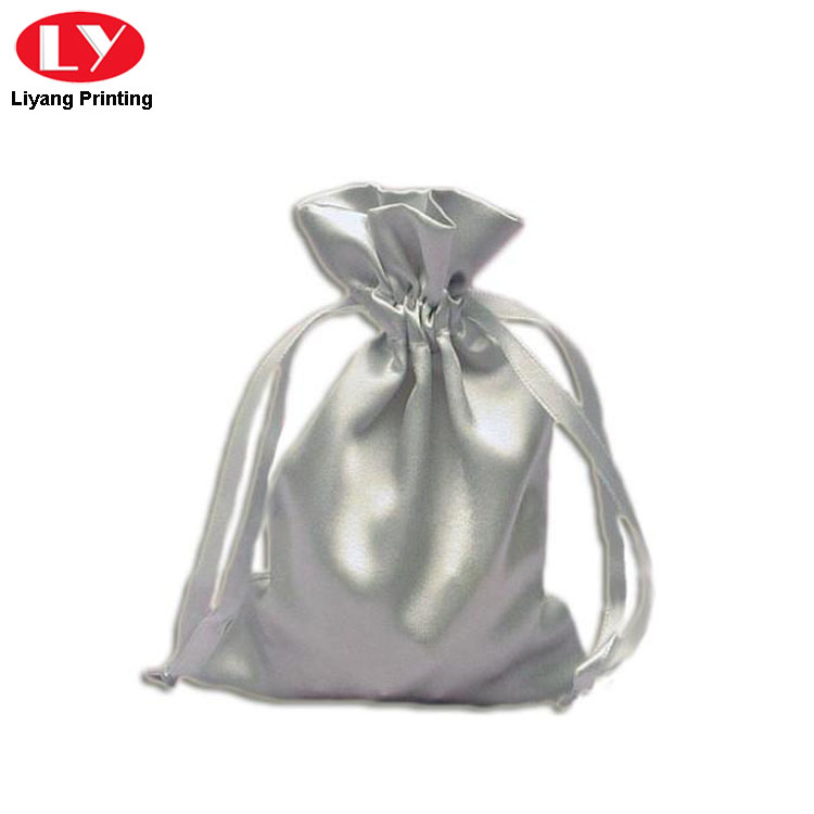 Silver Jewelry Bag