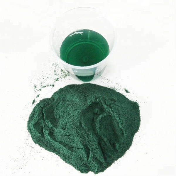 Dark Green Color Powder Basic Chromium Sulphate