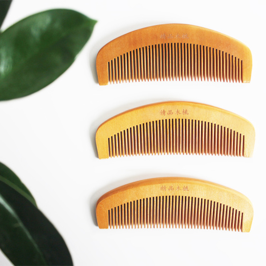 Fine Wood Comb Antistatic