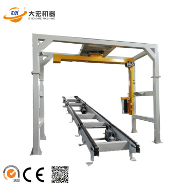 R1800 Automatic Rotary Arm Pallet Stretch Wrapping Machine
