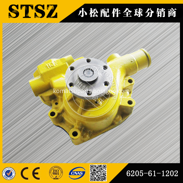 Pc78us 6 Water Pump 6205 61 1202