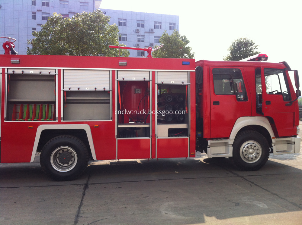 powder fire fighting truck 2