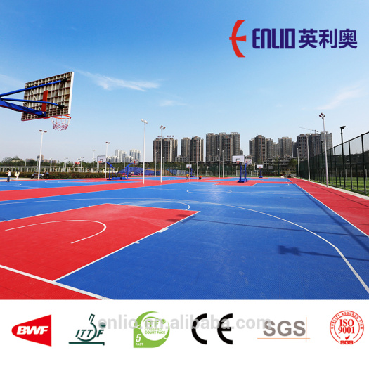 Outdoor PP Interlocking Flooring
