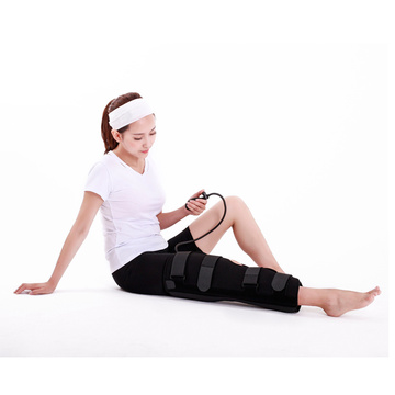 Adjustable cold therapy compression knee brace