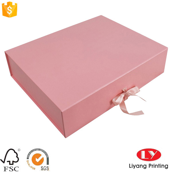 Fancy customized folding gift packaging box