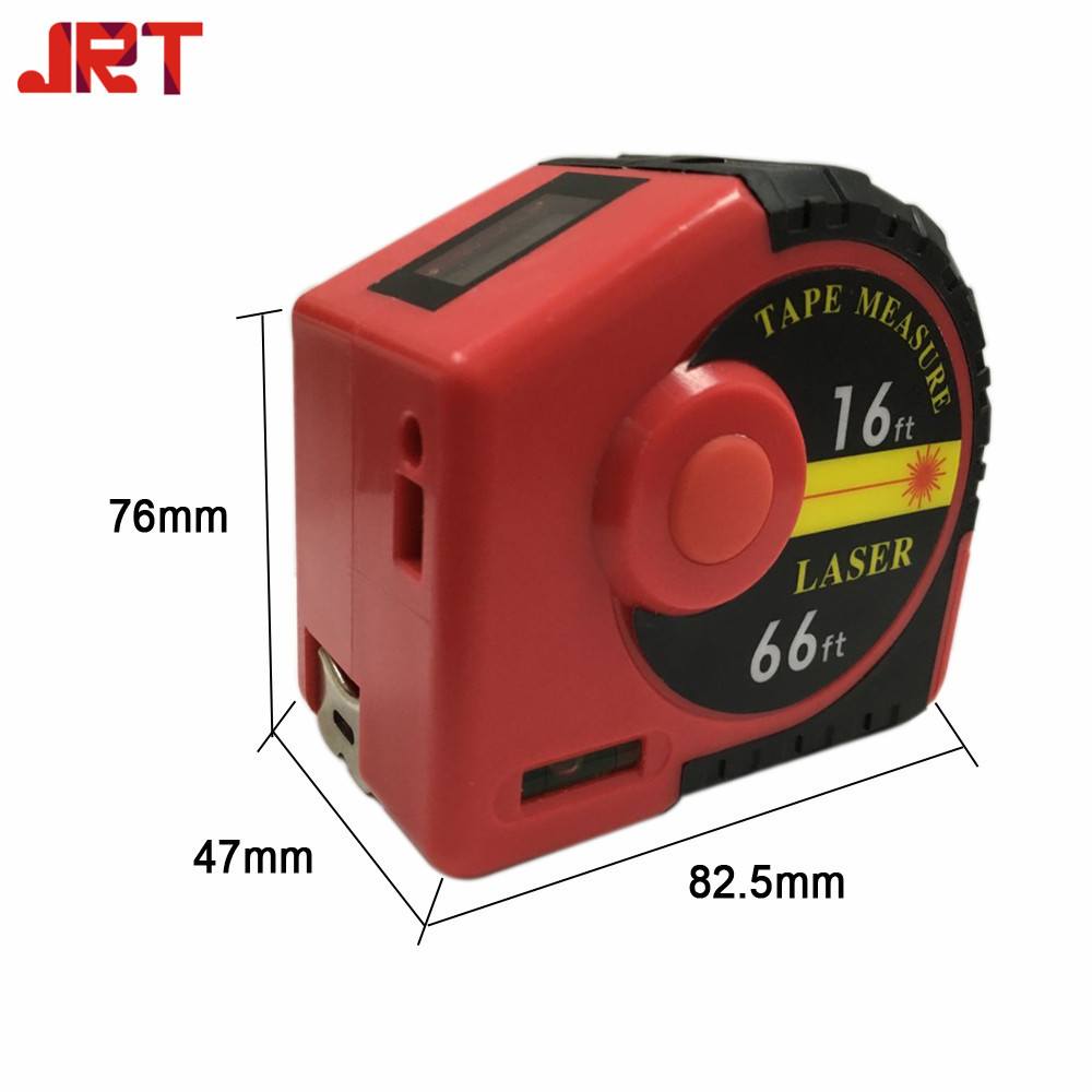 2 In 1 Laser Tape Measure Digital Distance Measuring Device
