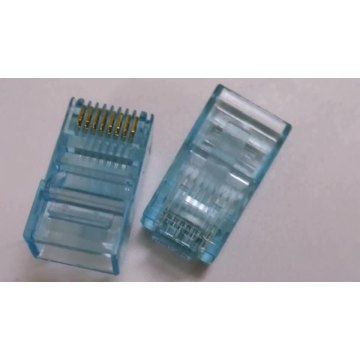 RJ45 8P8C plug CAT5e Crystal head