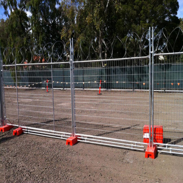 galvanized welded temporary fencing