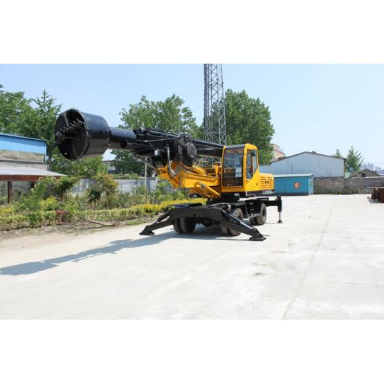 Small Wheeled Portable Well Drilling Machine Dl-360