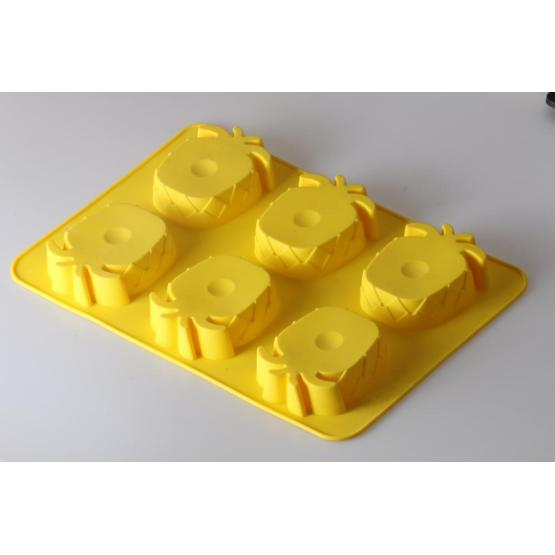 Pineapple shape silicone mold