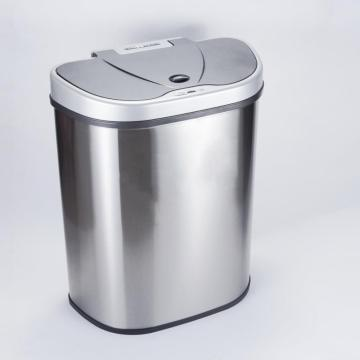 Smart Induction Three-Grid Stainless Steel Trash Can
