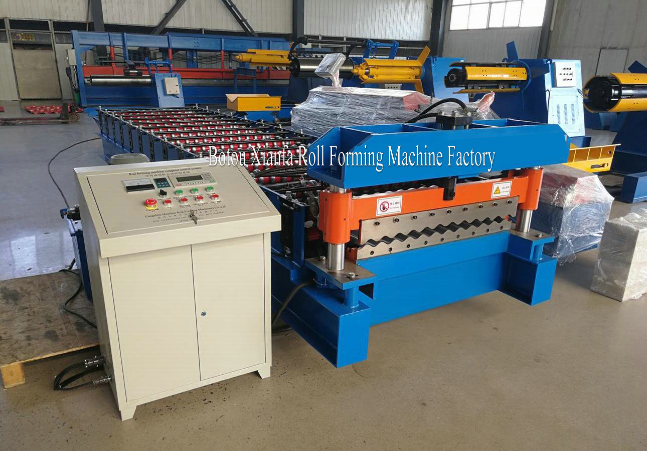 Roof Corrugated Panel equipment