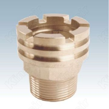 External Thread Plated Pipe Fitting