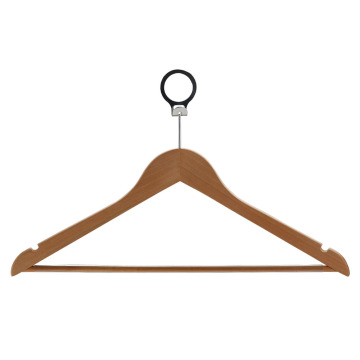 Brown Short Clothes Hanger for Hotel