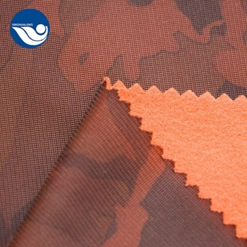 Polyester Printed Military Camouflage Knitted Fabric