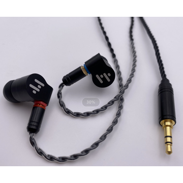 Dual Drivers in Ear Earphones with Detachable Cable