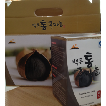 Export High Quality Solo Black Garlic