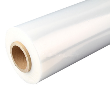 Large cling transparent stretch film roll