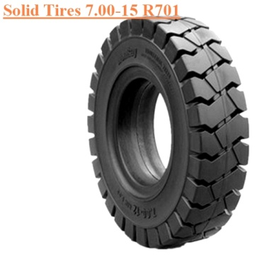 Steel Ring Forklift Solid Tire 7.00-15 R701