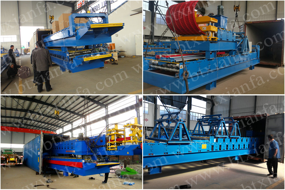 Sandwich Panel Equipment