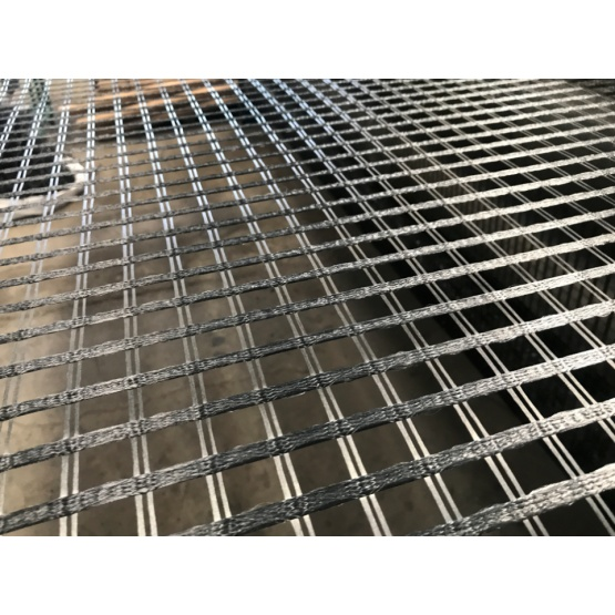 Warp Knitted and Polymeric Coated Polyester Geogrids