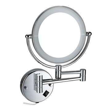 Magnifying Adjustable LED Desk Cosmetic Mirror With Light