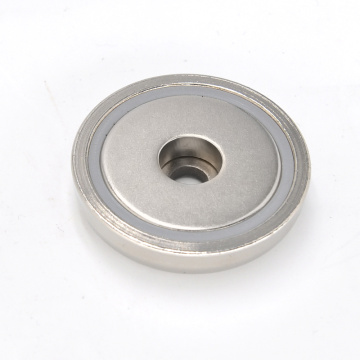 Round Base Magnet for Retaining Tools or Signs