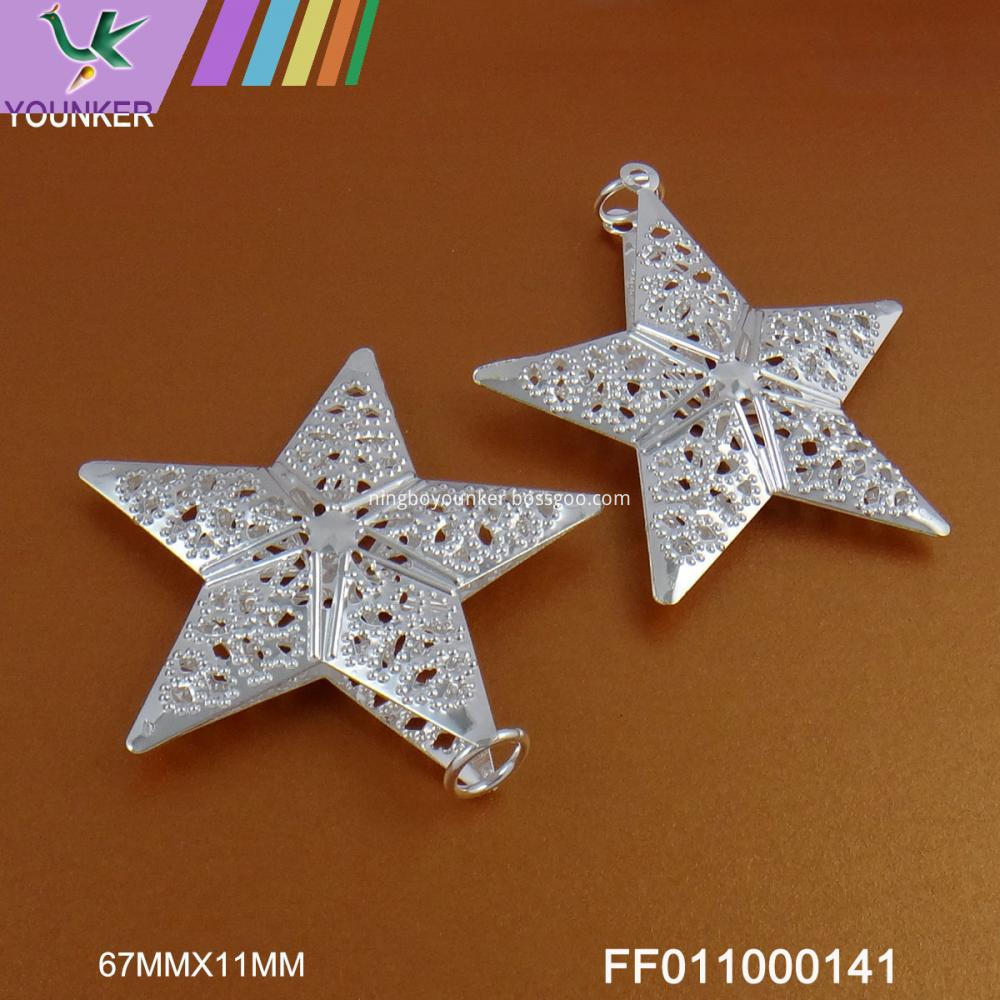 Star Metal Ornament
