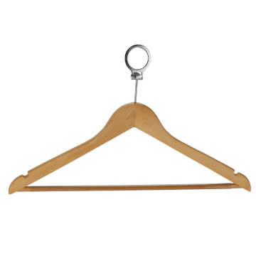 Natural Wooden Non-Slip Shoulder Wooden Hangers