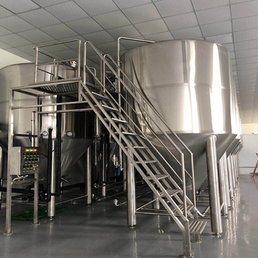 Stainless Steel Beer Brewing Machinery Expansion