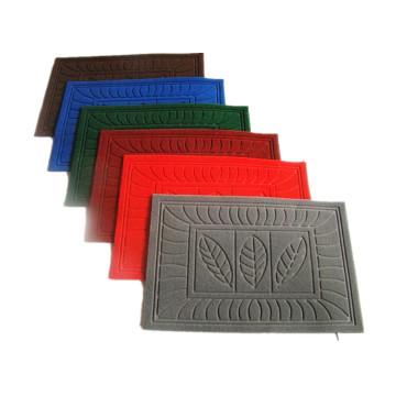 Factory high quality comfort embossed floor mat