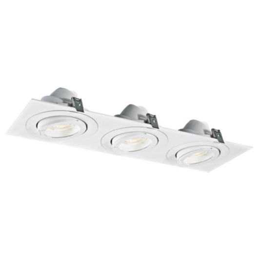 Warm White Powerful 30W*3 LED Downlight