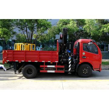 2019 New DFAC 5T XCMG Articulated Crane Truck